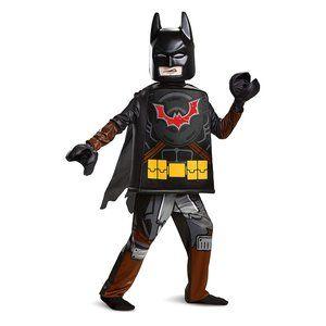 NEW Disguise Batman LEGO Deluxe Boys' Costume